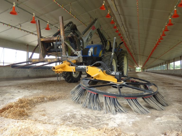 Pick'sweep Kehrmaschine